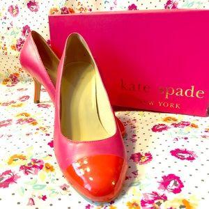 Kate Spade Color Block Pumps